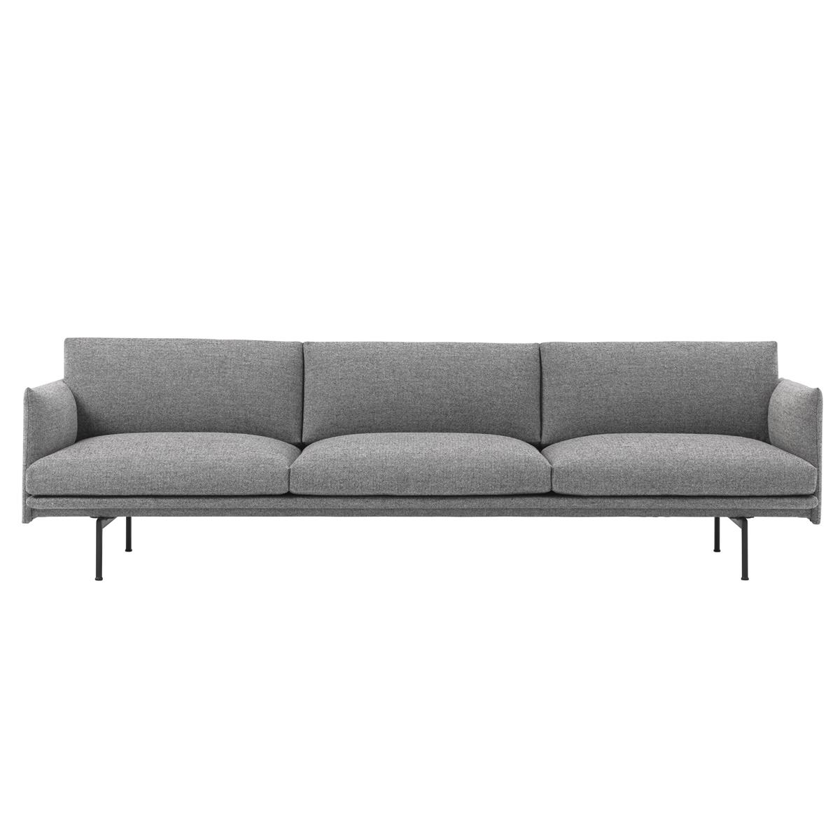 Outline Sofa 3,5 Seater - Kvadrat Hallingdal