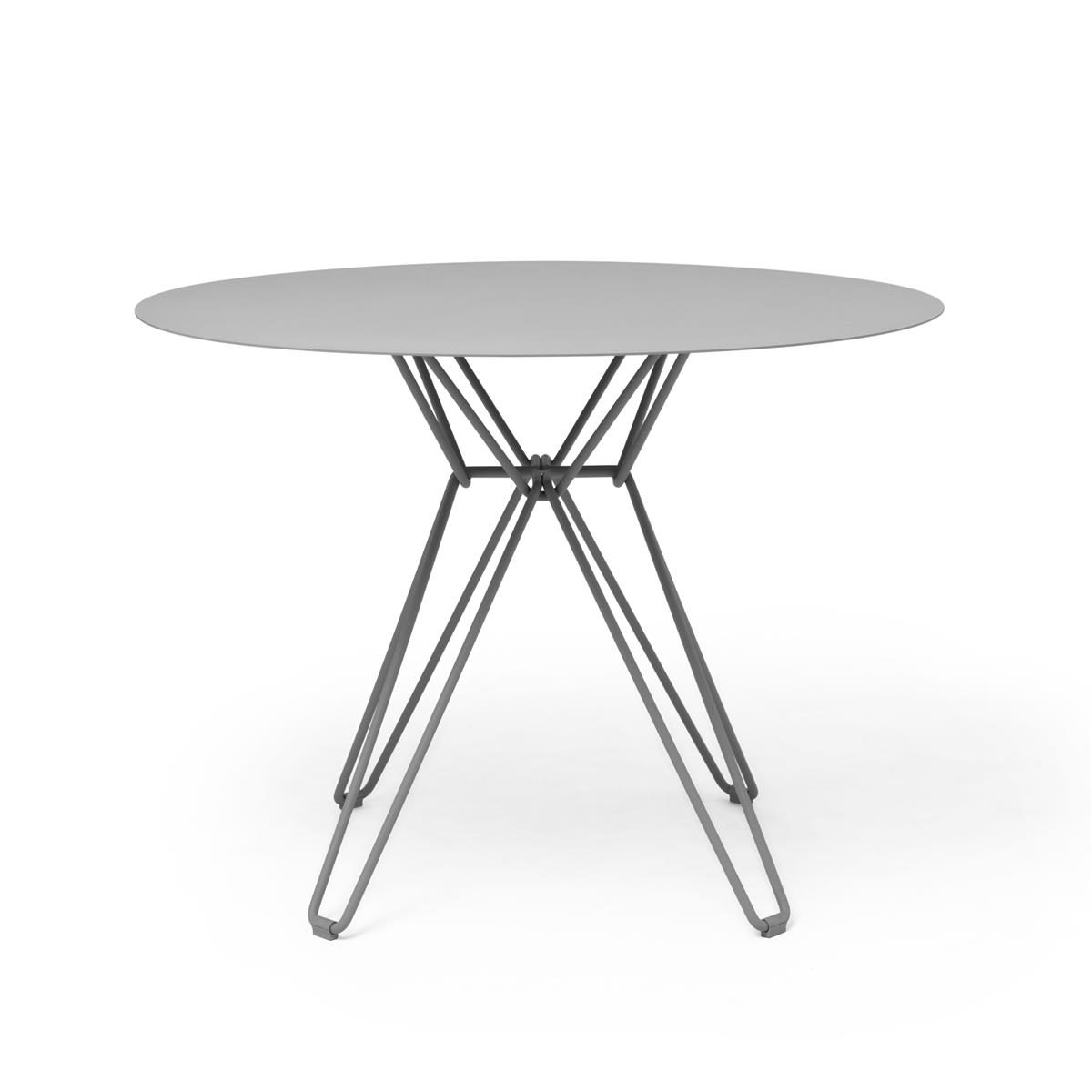 Tio Dining Table Ø100 x H72 cm - Stone Grey