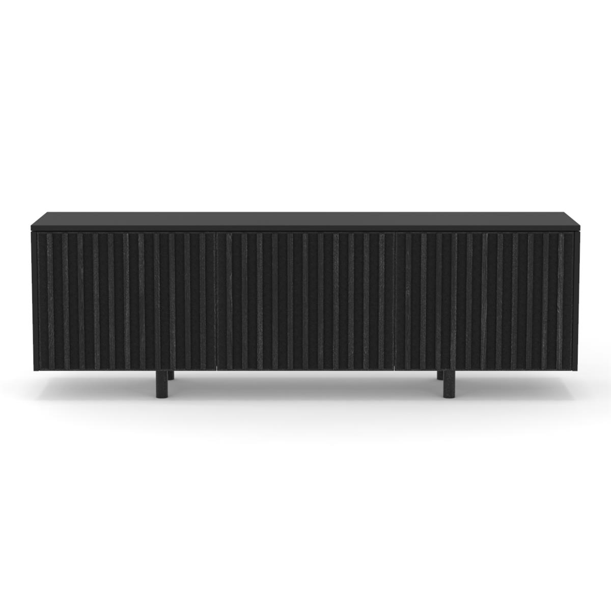 dB Silent Sideboard - Anthracite & Oak legs