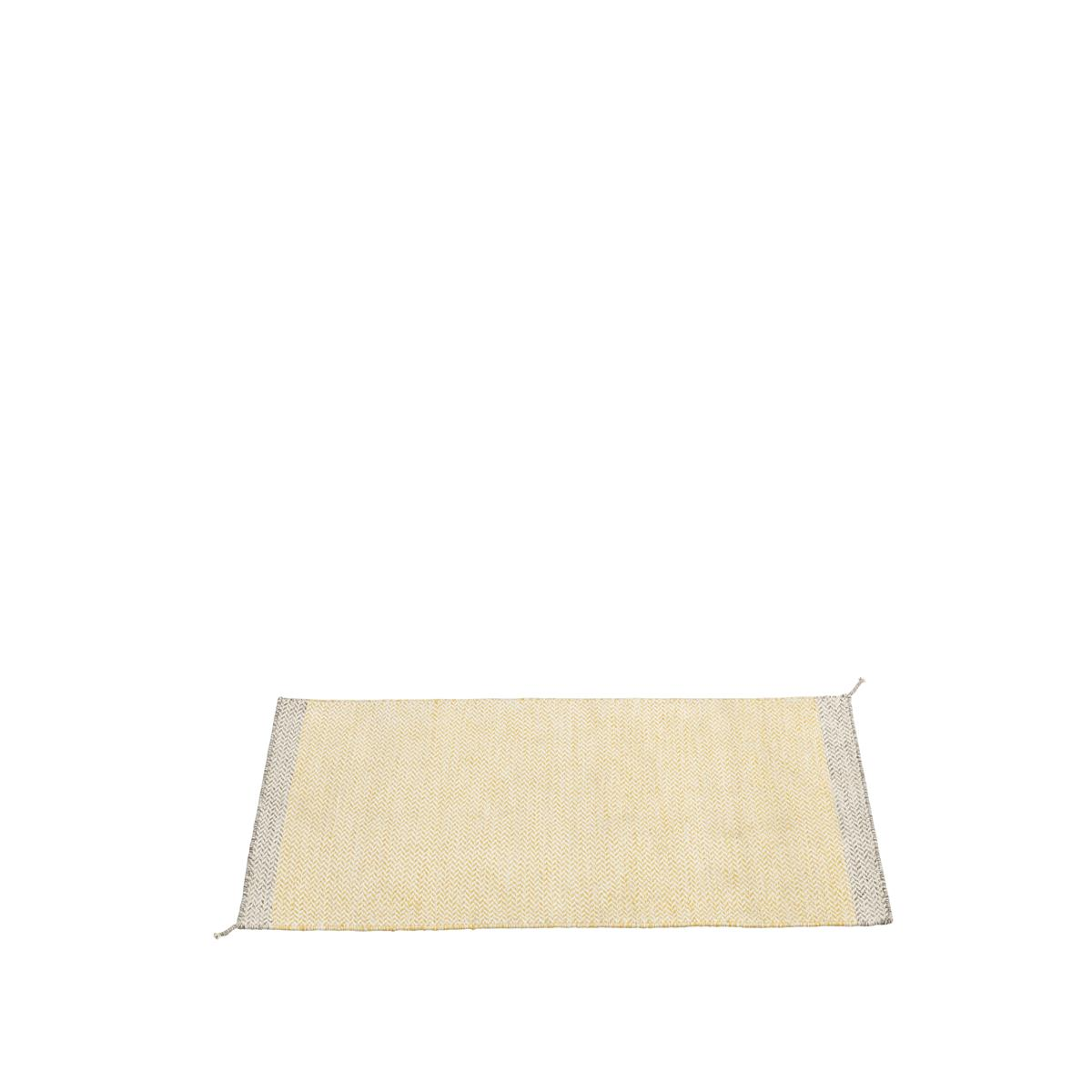 Ply Rug i 85 X 140 cm, Yellow