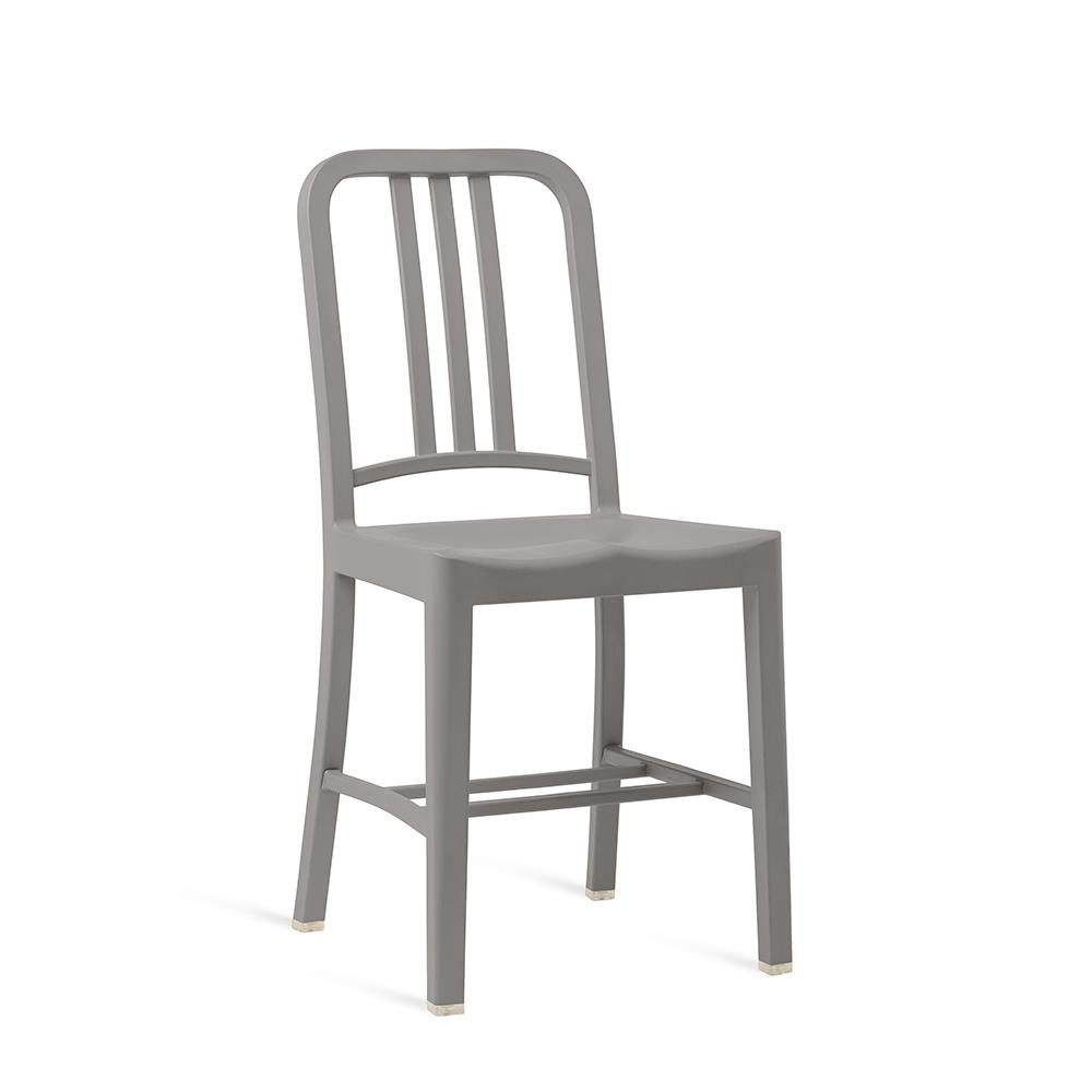 111 Navy Chair - Flint
