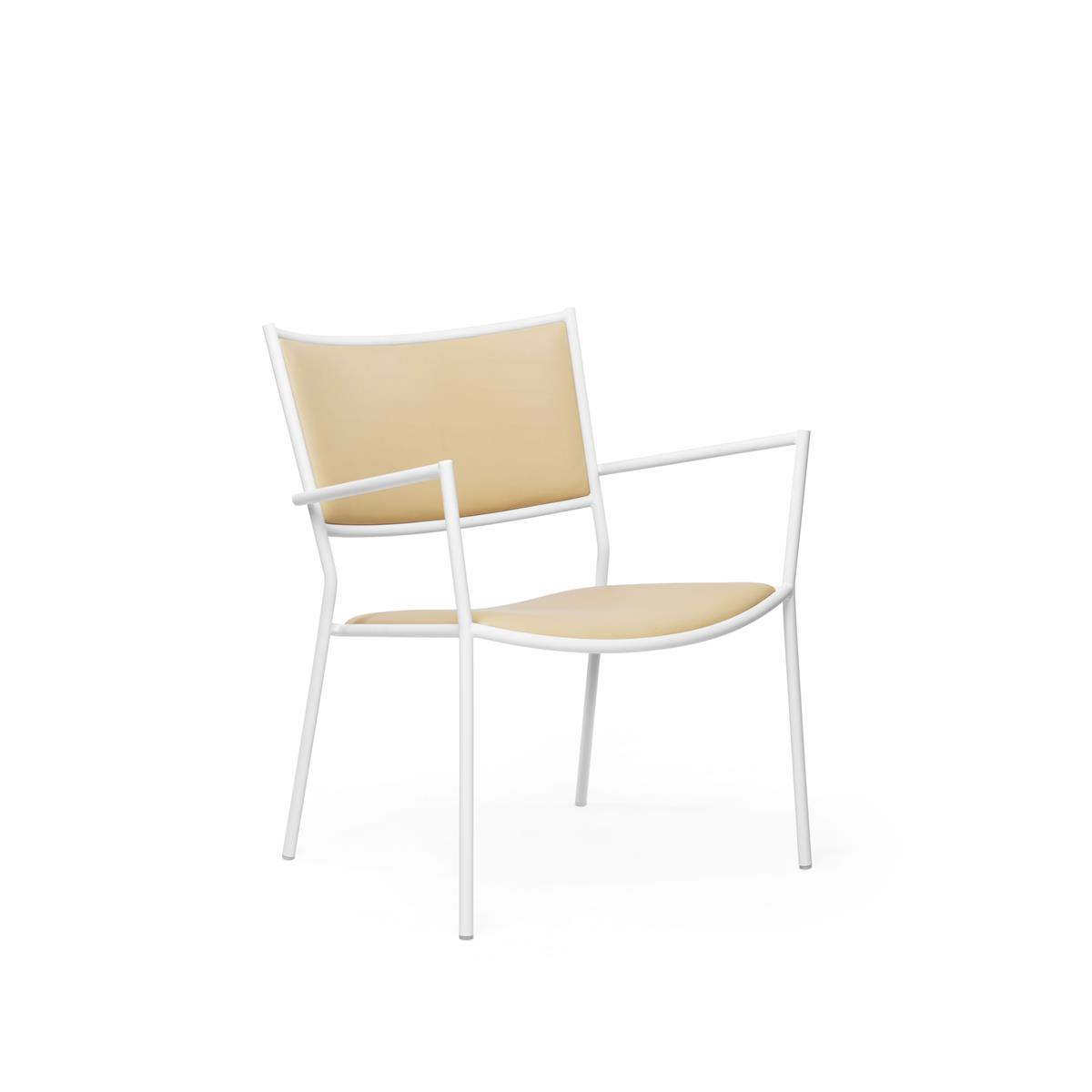 Jig Easy Chair - White & Elmo Nordic