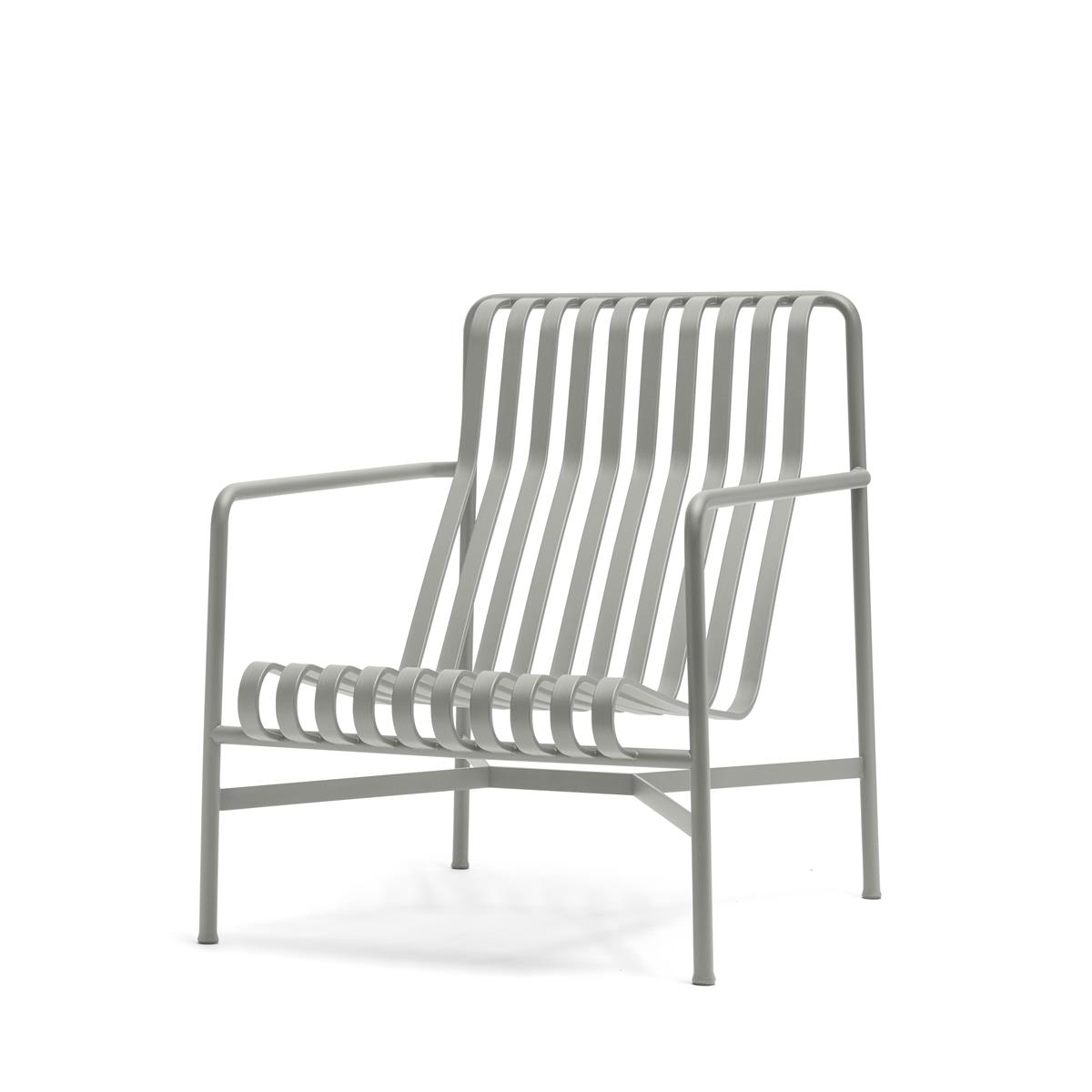 Palissade Lounge Chair High - Sky Grey