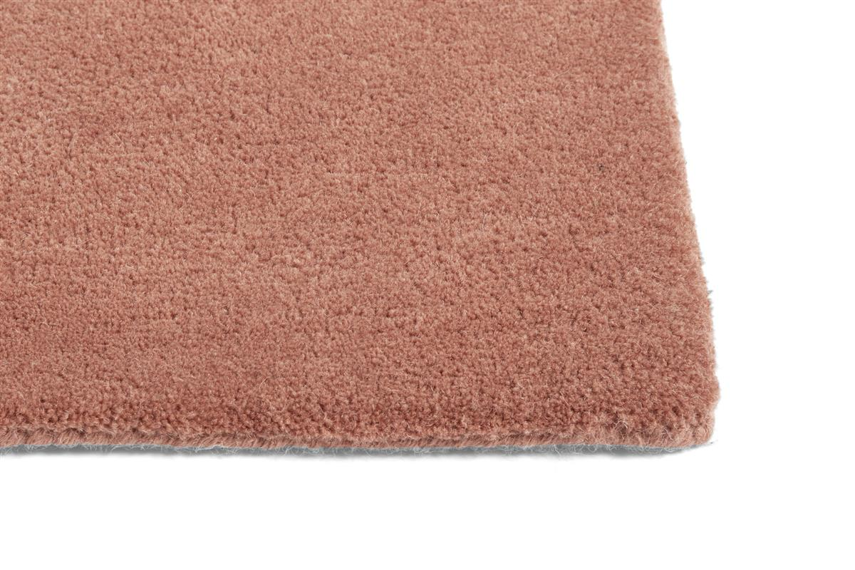 RAW RUG NO 2 / POWDER. L2000 X W800. MATERIAL WOOL/COTTON BACKING