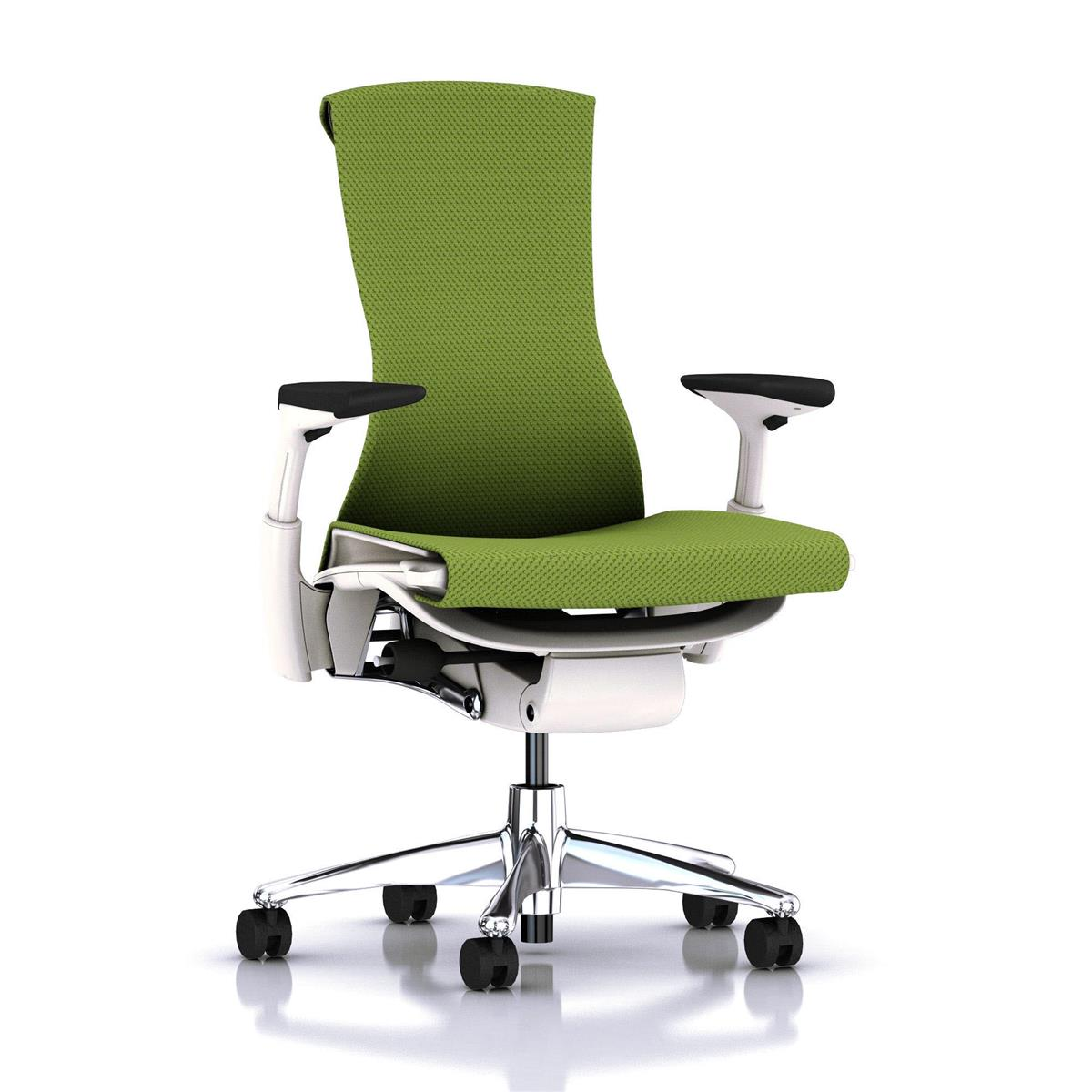 Embody Studio White / aluminium & Balance Green Apple