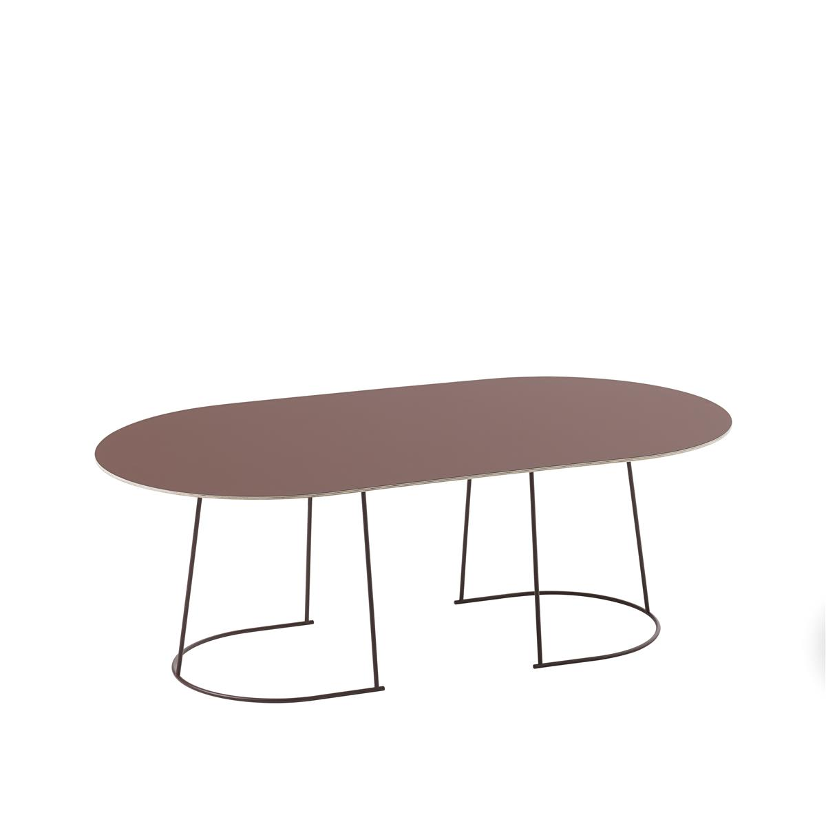 Airy Coffee Table / Large Plum - Nanolaminate