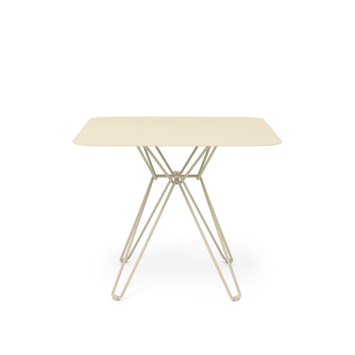 Tio Dining Table 85 x 85 x H72 cm - Ivory
