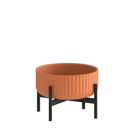 Klorofyll Low Base & Low Terracotta Planter