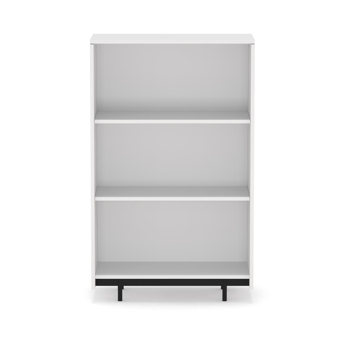 O3 Floating Cabinet - Tall Open, hvit & antrasitt