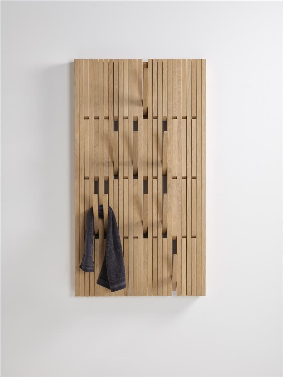 Piano Coat Rack Large - oljet eik