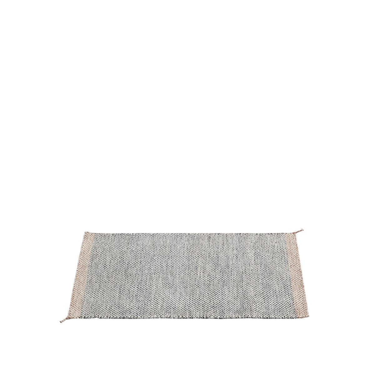 Ply Rug i 85 X 140 cm, Black-White
