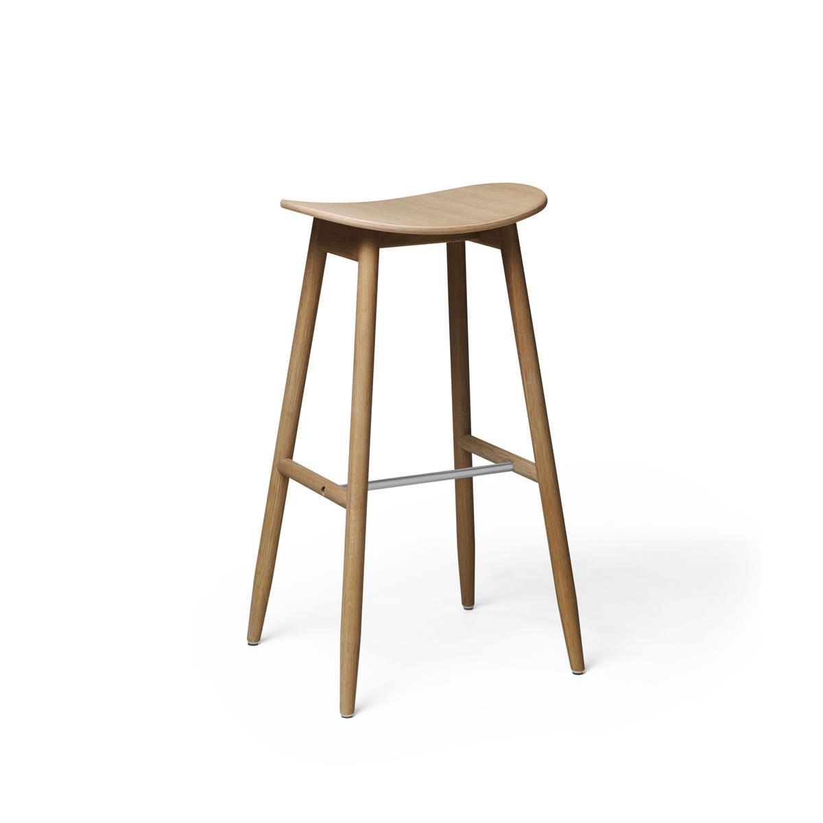 Icha Bar Stool - Natural Oak