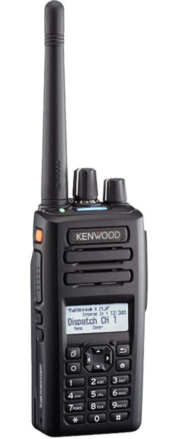Kenwood UHF NXDN/DMR Dig./Ana. Port. Radio GPS Full Keypad