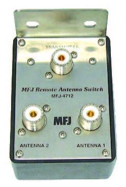 MFJ-4712 2 Posisjon remote Coax switch for 1.8-150 MHz.