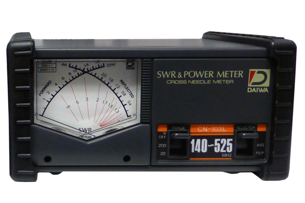 CN-501VN Daiwa  SWR/POWER.  140 - 525 MHz 20/200W