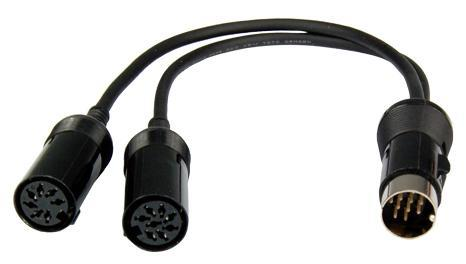 OPC-599 Kabel for IC-706 13 pin til turner og modem.