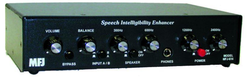 MFJ-616 Speech intelligibility Enhancer