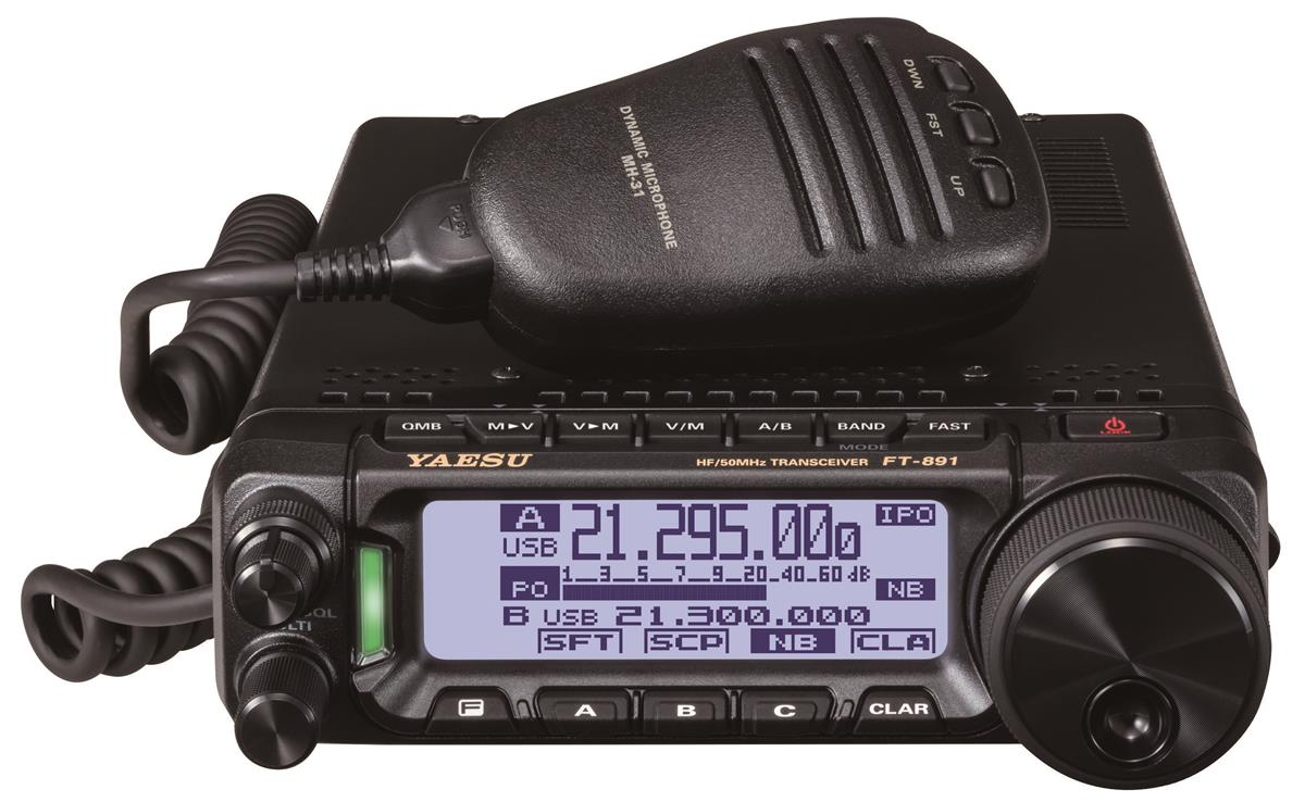 FT-891 HF/6M 100W  All-mode.