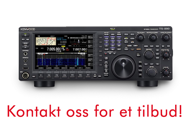 KENWOOD TS-890S HF/50MHz/70MHz Transceiver, Scope.
