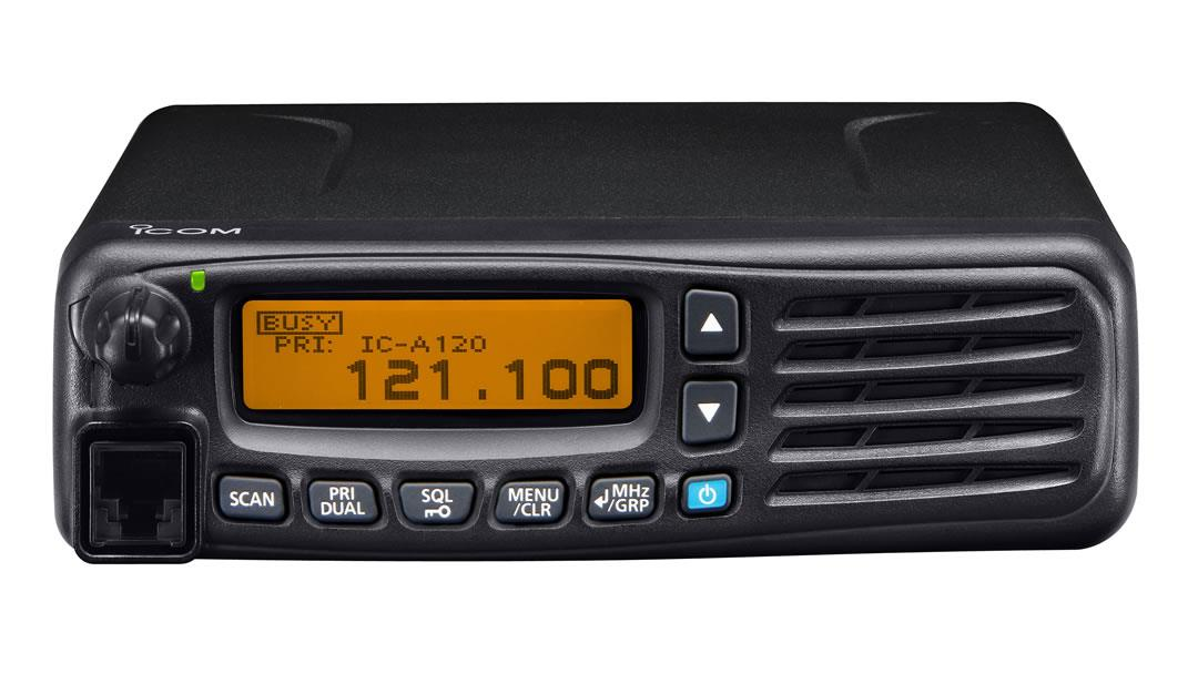 ICOM IC-A120E Ground support Airband Vehicle radio