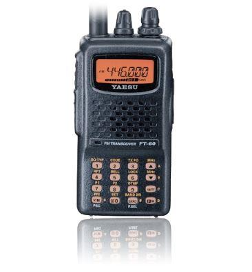 FT-60  Robust VHF/UHF m/ 1400mAh batteri  og lader