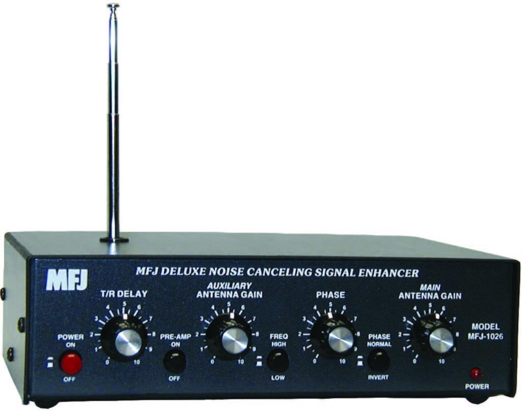 MFJ-1026  Deluxe  Noise Canselling Signal Enhancer