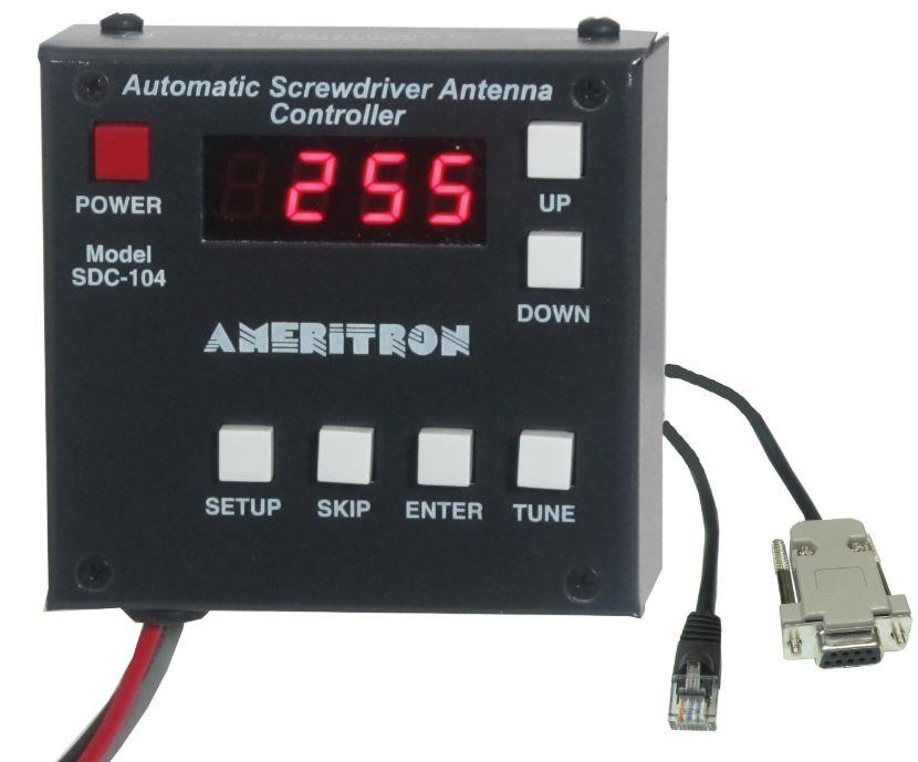 SDC-104K Ameritron Automatic Screwdriver controller for Kenw