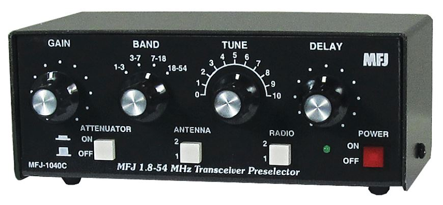 MFJ-1040C All Band Preselector m/ TX rele   1- 54Mhz.