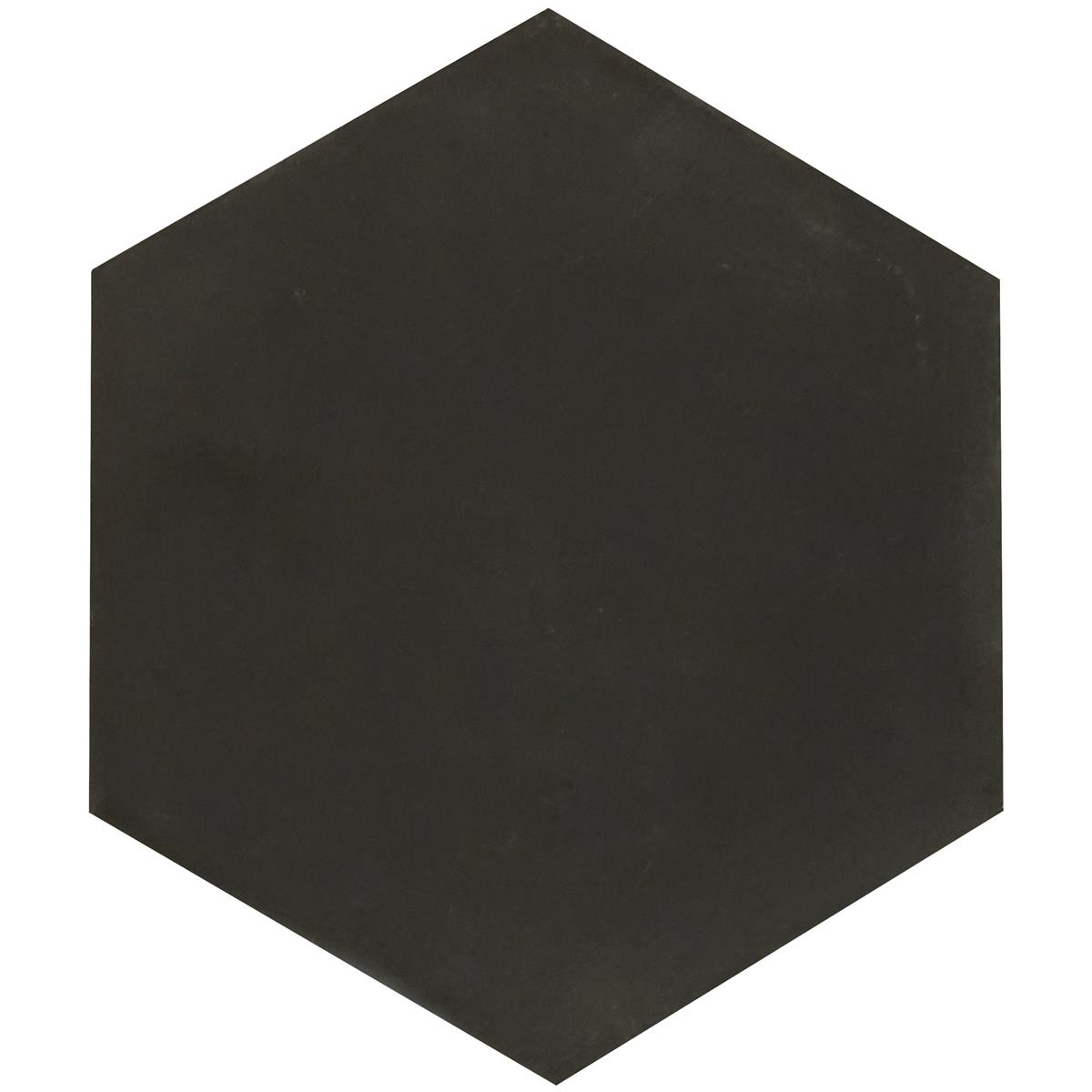 Hexagon black 17,4x15x1,6 cm