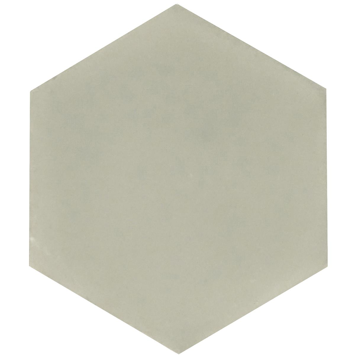 Hexagon Olive Green 17,4x15x1,6 cm