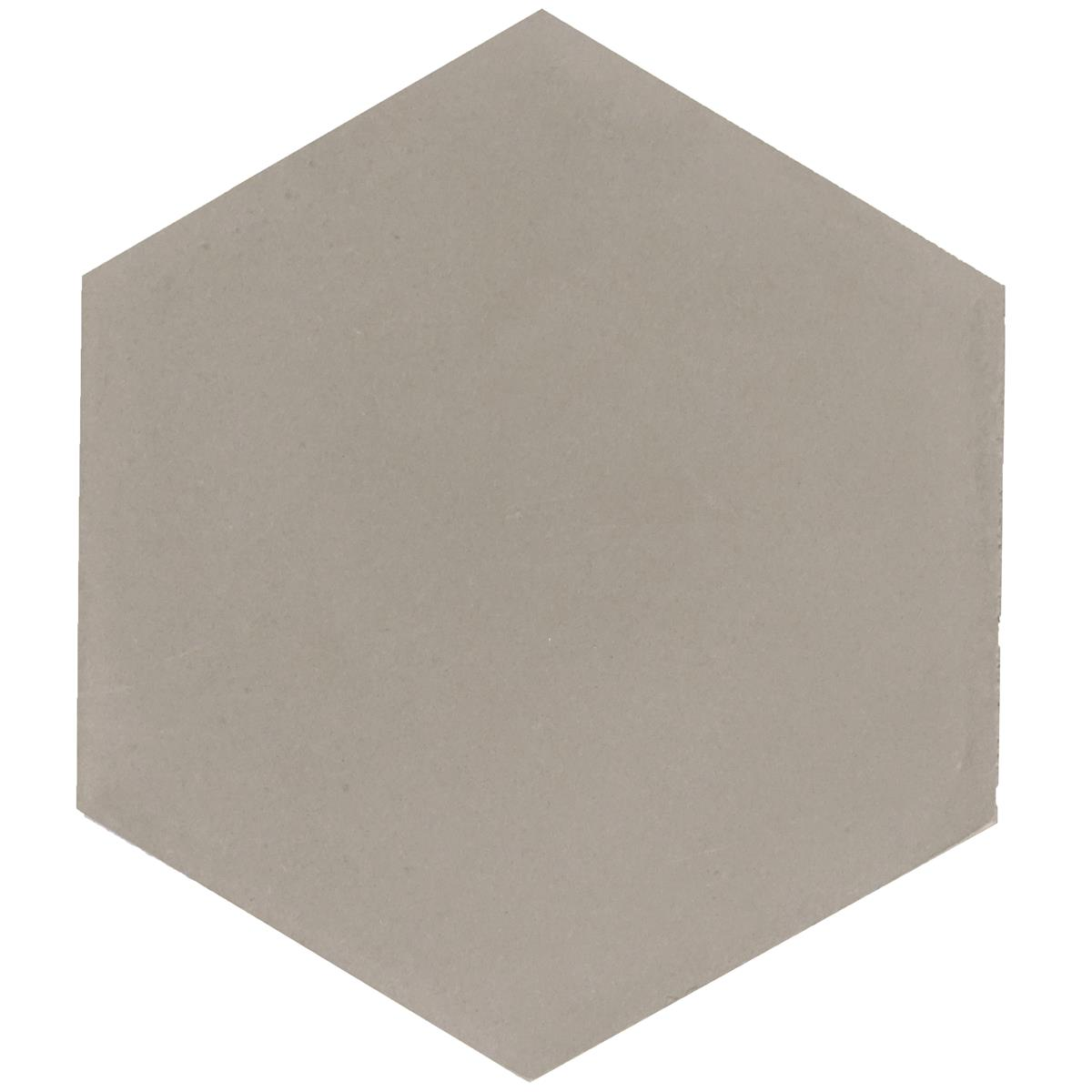 Hexagon Sand-Grey 17,4x15x1,6 cm