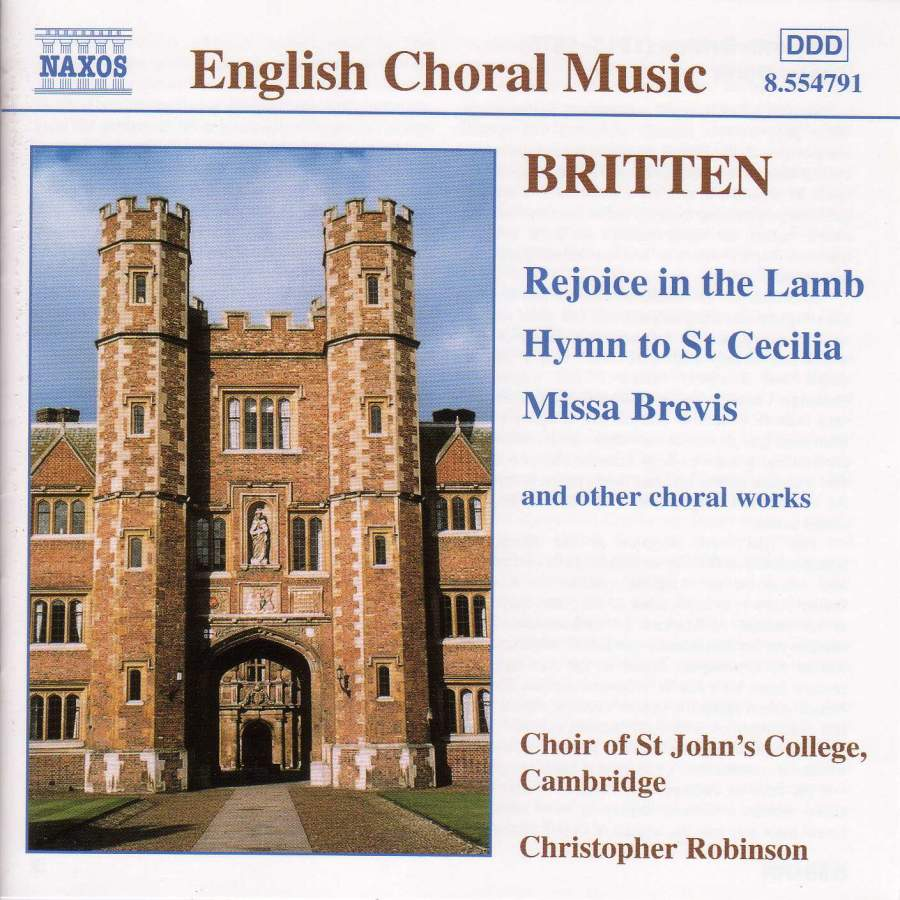 CD. Missa Brevis etc.
