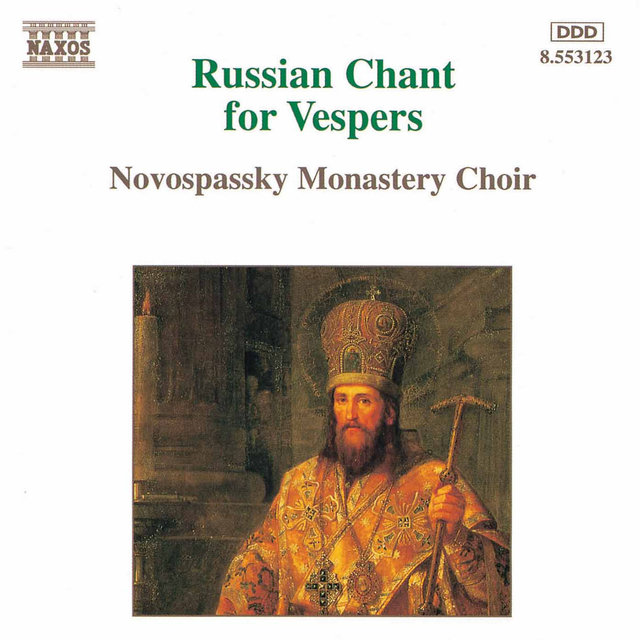 CD. Russian Chant for Vespers
