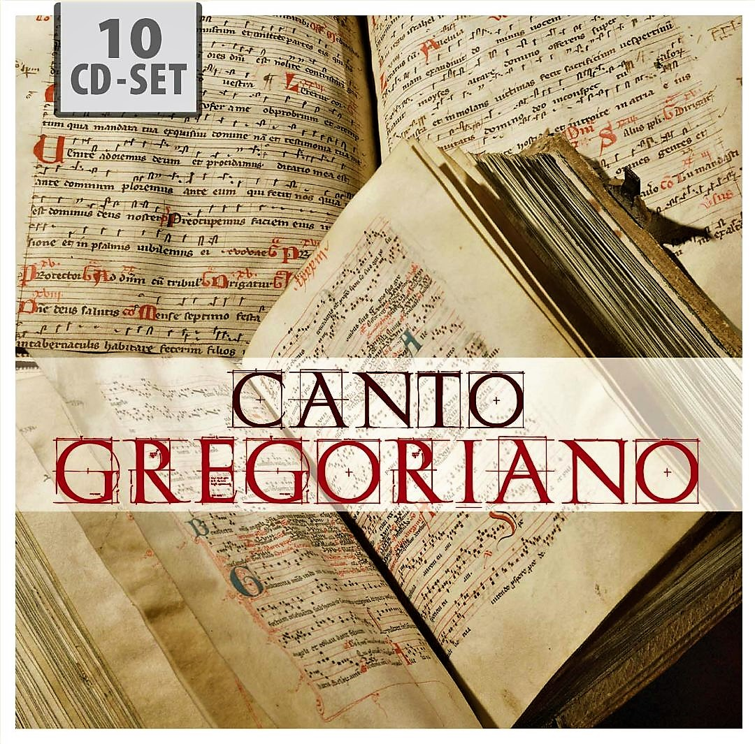CD. Canto Gregoriano 10 CD collection