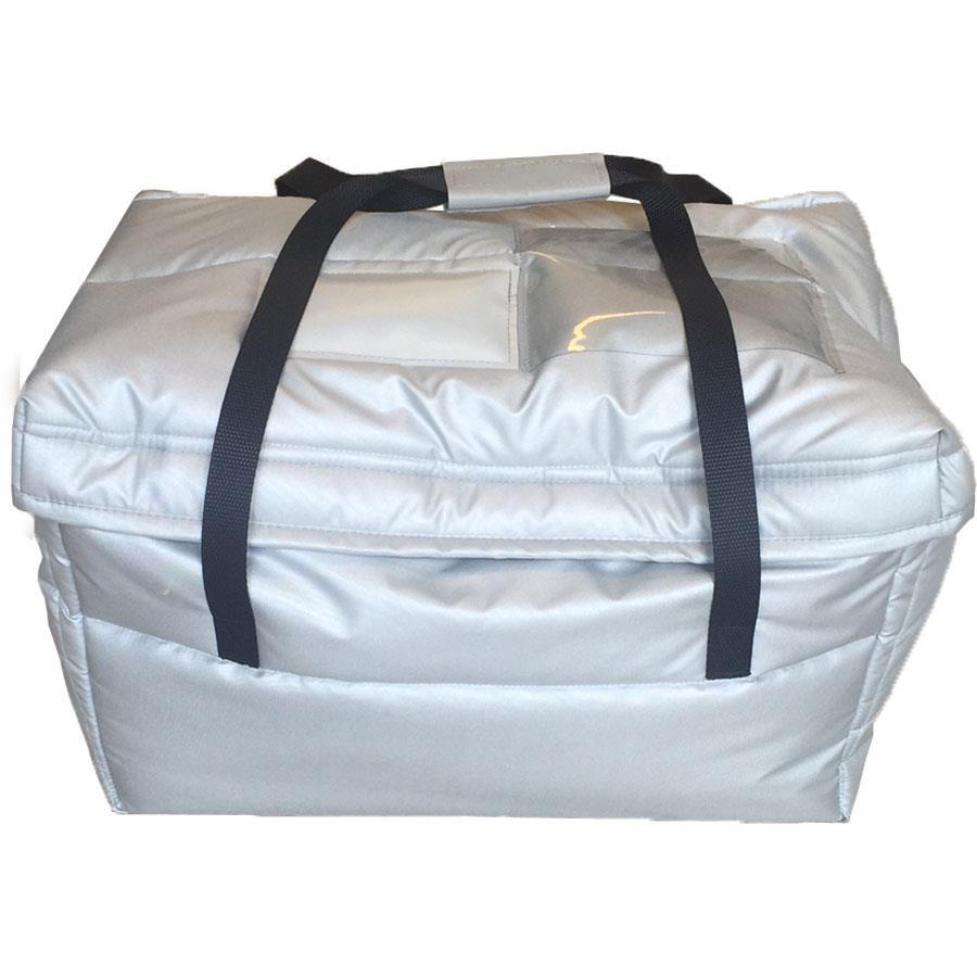 Termobag for grønn plastbakk, m/innleggsmatte