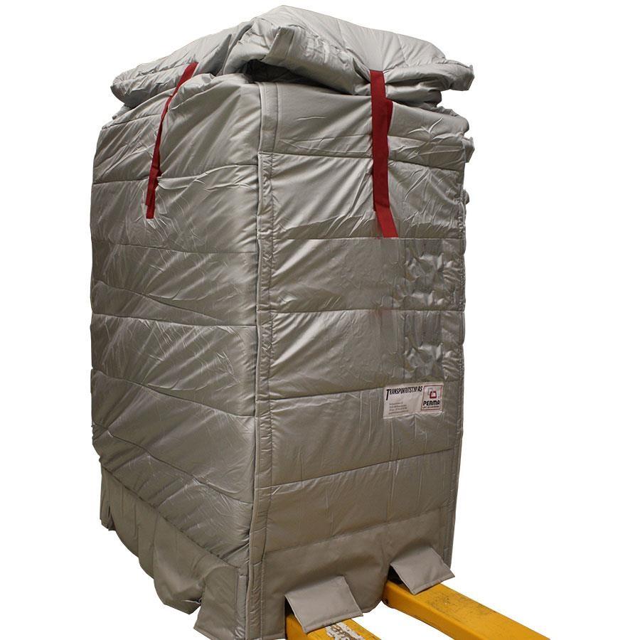 Perma isolert pallehette forsterket 82x122x150-180cm