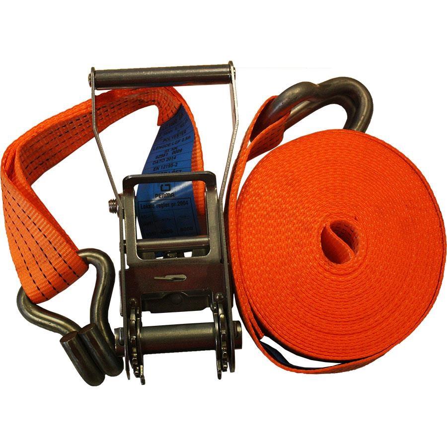 Maxi rustfri LC 2t 0,5+9,5m m/kroker BS 4t