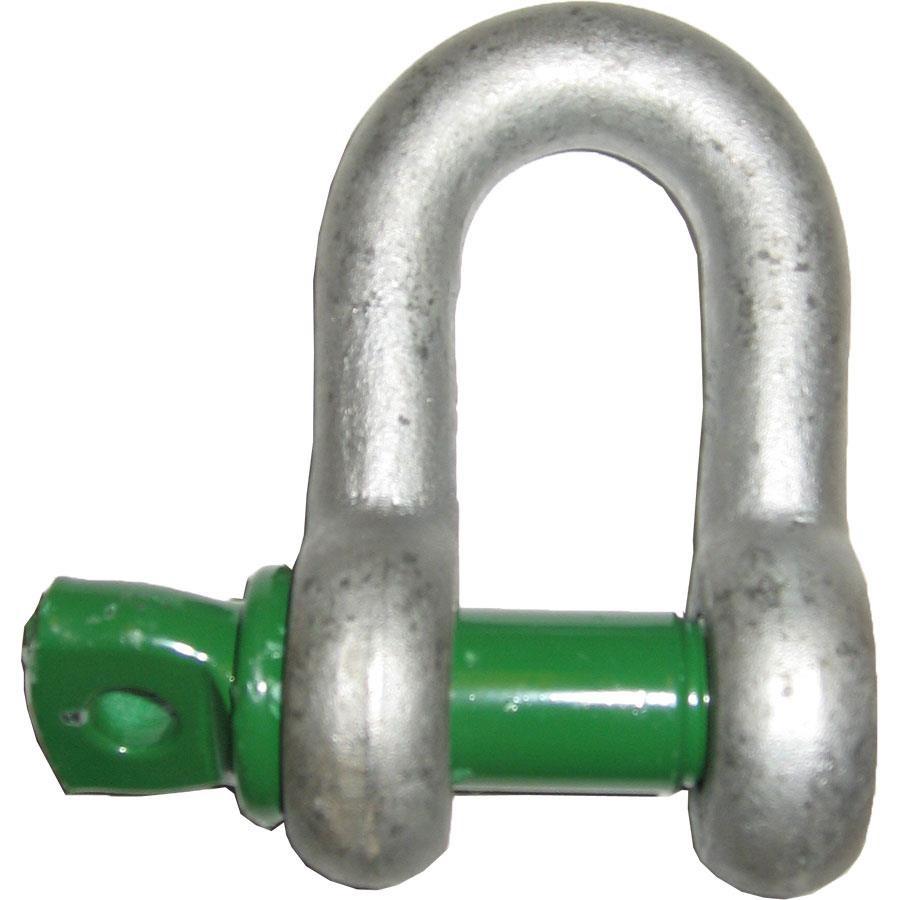 D-Sjakkel G-4151 m/øyebolt Green Pin