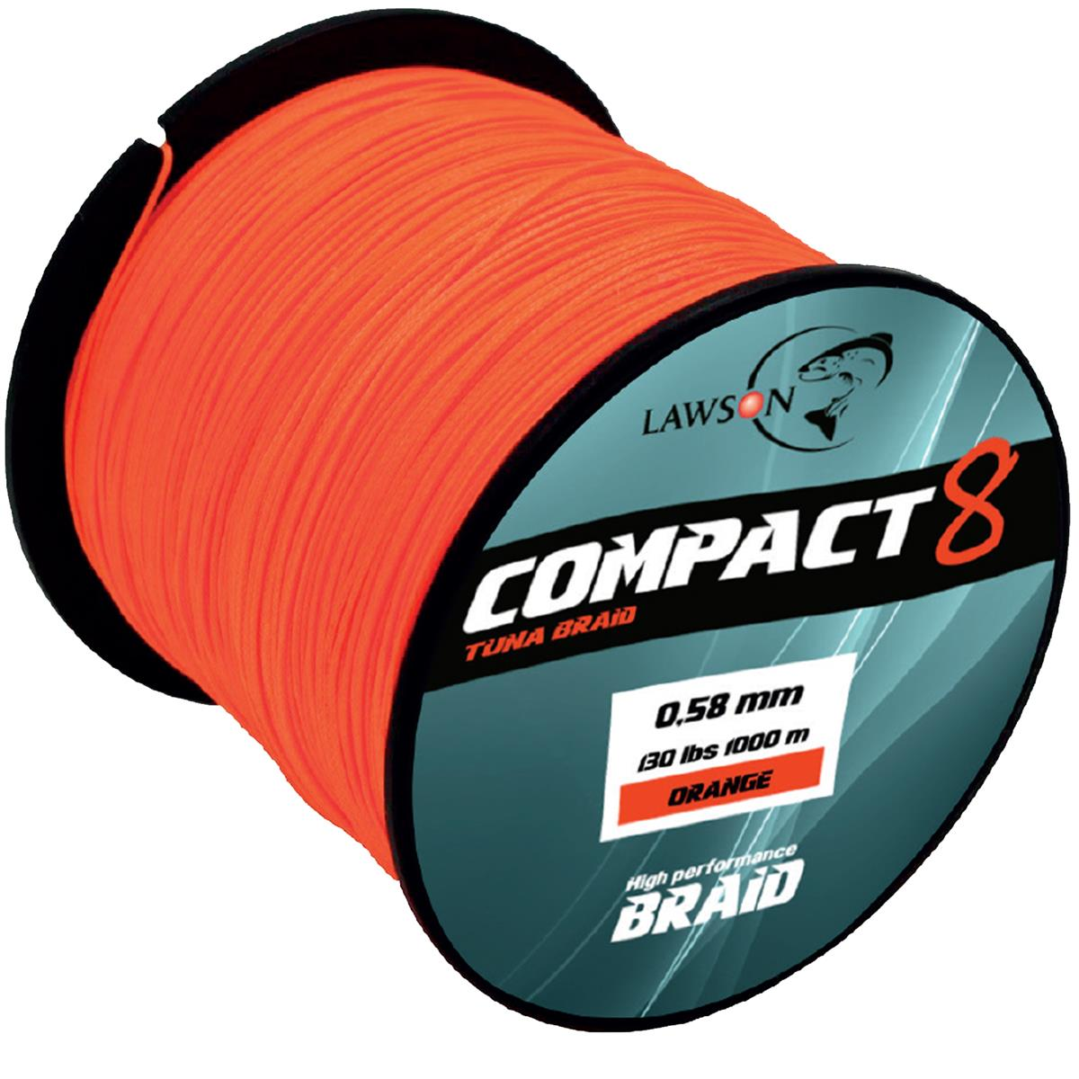 Lawson Compact 8 Tuna Orange 1000 m
