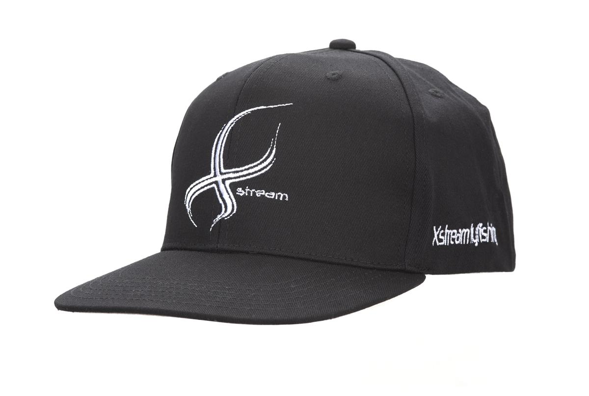 Caps Black Snapback Xstream