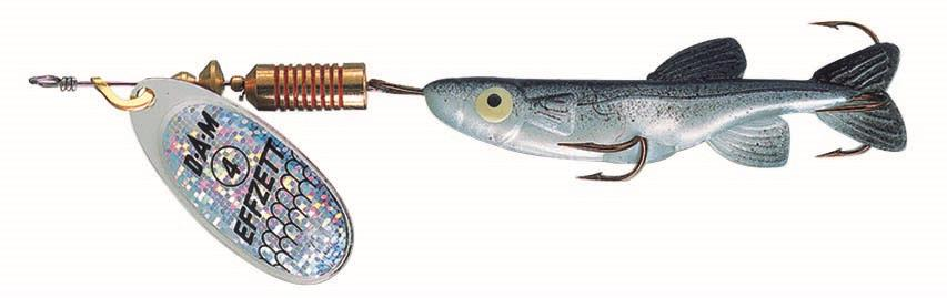 FZ Minnow Spinner 7 g Silver/Black