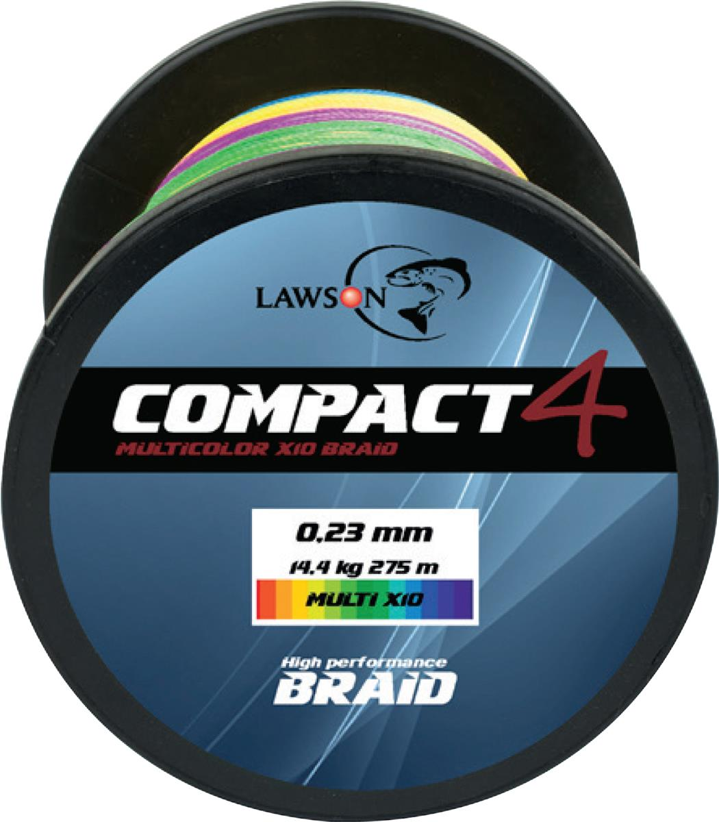Lawson Compact 4 Multicolor + X10 Braid Storspole