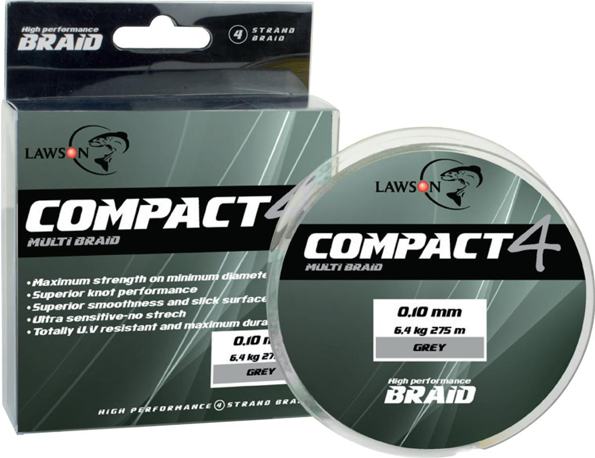 Lawson Compact 4 Grey - Multi Braid