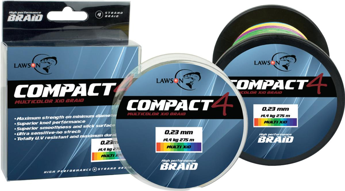 Lawson Compact 4 Multicolor + X10 Braid