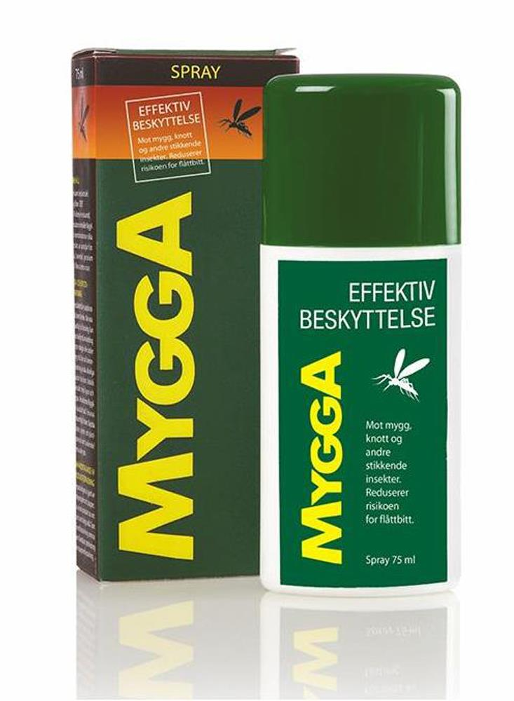 MyggA Myggmelk Spray mot Mygg 75 ml  50% Deet