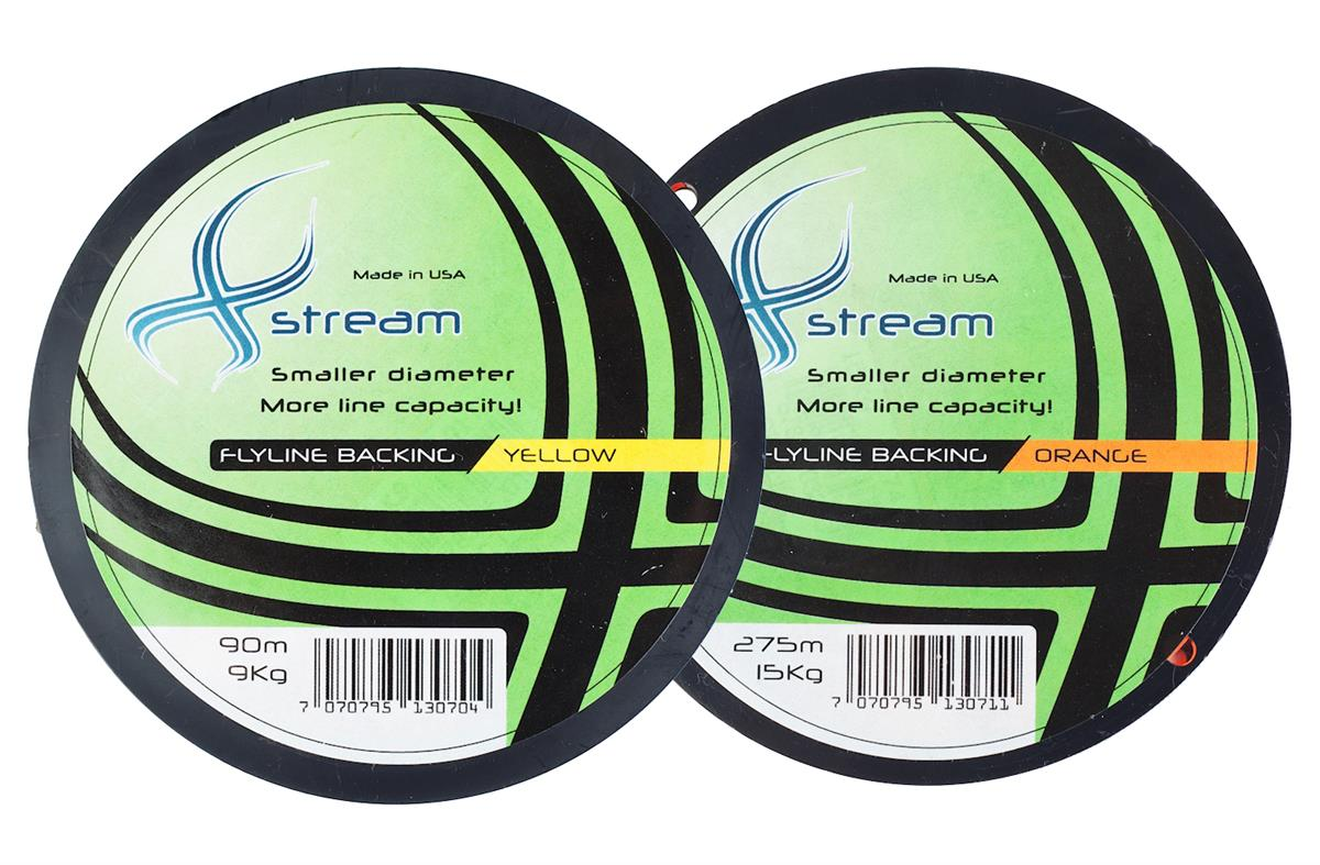Xstream Backing   274 m 15 kg   30 lb  Orange