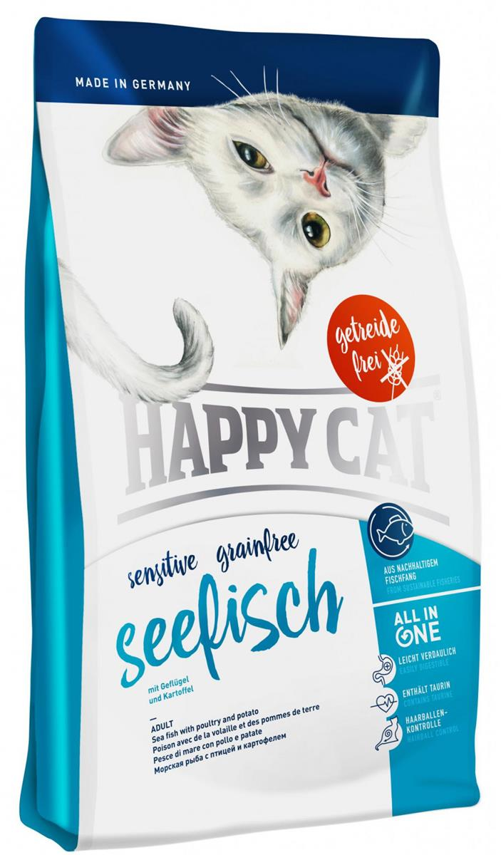 Happy Cat Sensitive Dypvanns-Fisk 4Kg