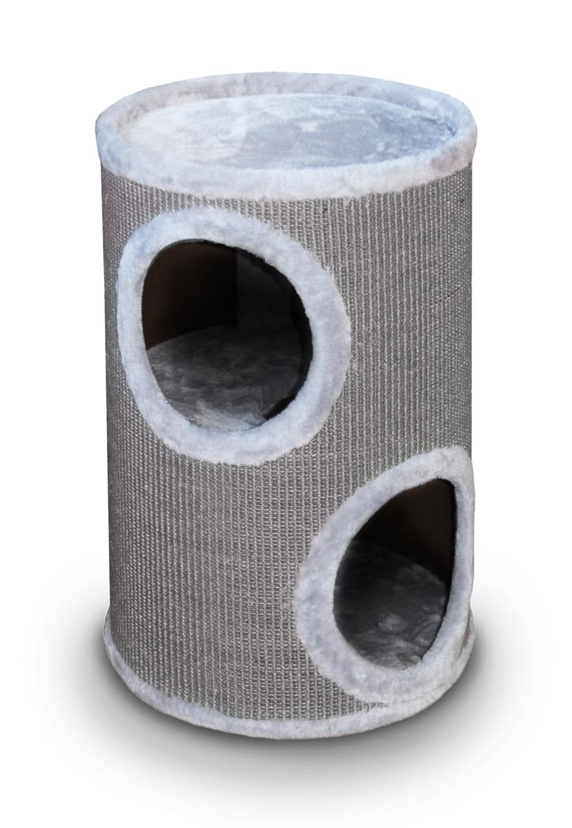 Kattemøbel 431-431061 Everlast Cat Tower Grå 2etg. 37x56cm