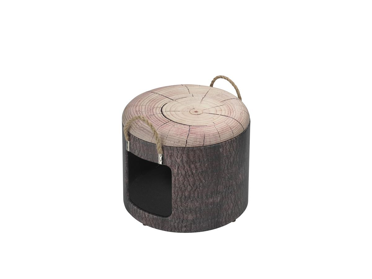 Kattehule/Boks 434-432266 Pet Box Wood S Ø30x26cm