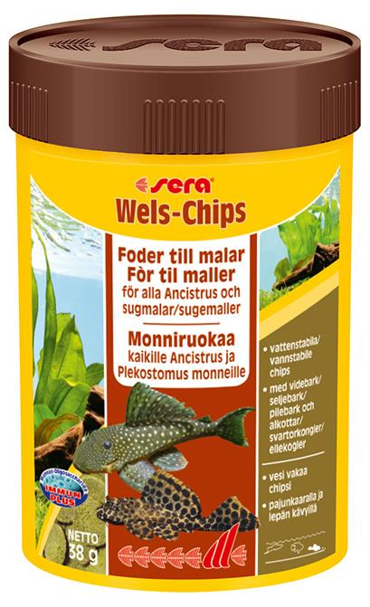 Fiskefor Sera Catfish Chips 100ml 510